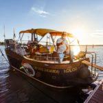 Captain Igloo® - l'imbarcazione di Captain Igloo® al tramonto di Bibione